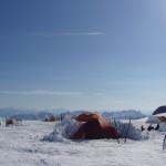 Basecamp in the Freshfields